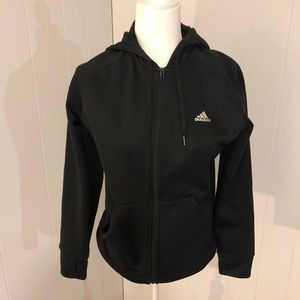 adidas Tops - FITTED ADIDAS ZIP UP